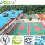 De Oppervlakte van de Bevloering van de Sport van het silicone Pu voor Tennisbaan