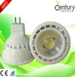 Ce RoHS Approved Dimmable di MR16 GU10 6W LED COB Spotlight