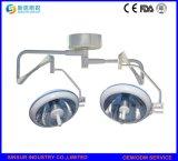 Comprar la lámpara principal doble fría Shadowless calificada del funcionamiento del techo del halógeno
