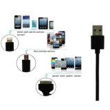 Promotie 3 in 1 Mfi Kabel van het Certificaat USB voor de Kabel van de Overdracht van Gegevens