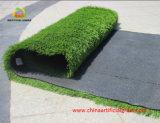 Césped artificial de fútbol cómodo para dos tonos con Certificación SGS