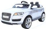 1452001 - Автомобиль RC для езды Audi Q7 на приводе электрического автомобиля детей колес автомобиля 4 поручая с младенцами младенца автомобиля игрушки дистанционного управления могут сидеть крест