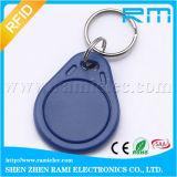Tag chave que pode escrever-se Keyfob de 125kHz/13.56MHz RFID para a entrada de porta do controle de acesso