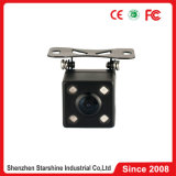4 LED Vehicle Rear View Car Camera con 170 Degrees Wide Angle
