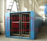 Secador del túnel de la circulación del aire caliente para la rebanada vegetal