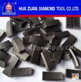 Reinforce Concrete Cutting를 위한 높은 Efficiency Diamond Drilling Segment