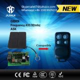 compatible teledirigido de 433.92MHz Fsk con el Cardin original S449 para la puerta del garage
