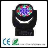 19*15W RGBW LED 꿀벌 눈 이동하는 맨 위 광속 급상승 세척 빛