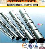 ASTM A554 304 Polish 200 # Tuyau décoratif en acier inoxydable soudé