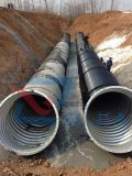 Tubulação de aço galvanizada ondulada sem emenda
