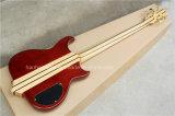 Нот Hanhai/гитара шнуров красного цвета 5 левша электрическая басовая