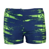 Sublimation Printing Fashion Men Swimwear with 4 Way Stretch Fabric