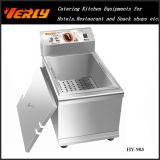Sale quente Commercial Electric Fryer, 10L Desktop Electric Fryer, 1 Tank 1 CE Approved de Basket (HY-903)