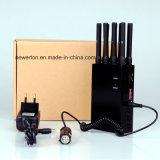 Jammer portable para Blocking 2g 3G 4G Cellphone Signal /WiFi GPS Lojack Jammer Blocker