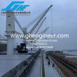 電気/Hydraulicのばら積み貨物船の海洋のデッキクレーン