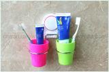 Suporte fixado na parede do Toothbrush do copo da sução do banheiro