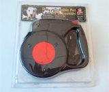 da trela retrátil do cão de 8m corda automática da tração com o Special da lanterna elétrica do diodo emissor de luz para o grande cão