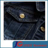 Veste de denim de loisirs de douille du coton des hommes longue (JC7050)
