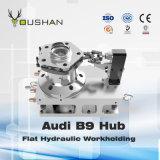 Torno Workholding hidráulico do cubo de Audi B9 das peças de automóvel