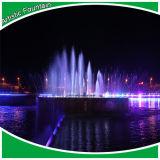 Fontaine de musique de projet de développement de ville