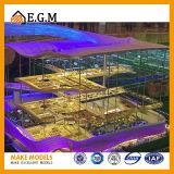 El modelo hermoso del edificio/el factor del edificio arquitectónico de la escala/modelo de fabricación modelo del modelo del edificio/de hojas de operación (planning) de la zona