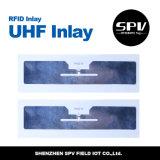 Tag do animal de estimação da logística da freqüência ultraelevada do estrangeiro H3 de RFID impermeável
