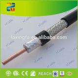 Cable subterráneo del PVC del cable coaxial RG6 coaxial con RoHS