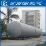 Réservoir de stockage cryogénique de liquides de poudre de vide