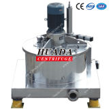 Paut Scraper Bottom Discharge Centrifuge Machine mit Top Mounted Motor
