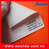 Rolo elevado da bandeira do cabo flexível do PVC de Grade440g Frontlit para a impressão (SF550)