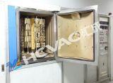 Máquina de cobre amarillo de la vacuometalización del oro PVD de la caja de reloj de la joyería del acero inoxidable, máquina del laminado del ion