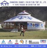 De openlucht Anti UV het Kamperen Tent Yurt van het Aluminium van de Toerist Mongoolse