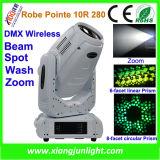 10r 280W DMX 이동하는 맨 위 광속 빛