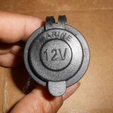 Zoccolo di potere della spina dell'accenditore della sigaretta dell'automobile del motociclo di CC 24V (DS-1011)