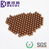 bola de cobre pura de 0.5m m a 30 del milímetro G500 C11000 bolas de acero del T2