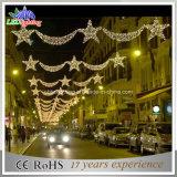 Luzes 2015 da decoração da rua do Natal para a cidade