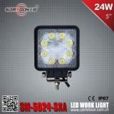 5 indicatore luminoso automatico del lavoro di pollice 24W LED