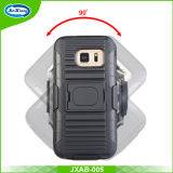 Galaxy S7, Armband Holster Case, Sweat Proof Impact Resistance Case를 위한 완장 Case