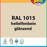 Alta calidad RAL de colores RAL 1015 Luz de Marfil Powder Coating