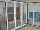 Lega di alluminio Horizonal che fa scorrere la finestra di vetro del telaio