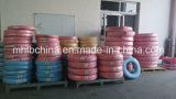 Le fil d'acier a tressé le boyau en caoutchouc hydraulique couvert par caoutchouc renforcé (SAE100 R1-16at)
