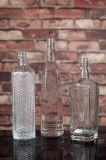 le silex 750ml/1L superbe conçoivent des bouteilles en fonction du client de vodka avec l'impression d'écran