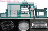 Máquina de empaquetado modificada para requisitos particulares de la fabricación de cajas de la ampolla plástica de la bandeja de la galleta de Cooky de la galleta de la galleta