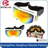Les meilleures couleurs facultatives de lunettes de sûreté de sports en plein air d'ordonnance de bâti de TPU ont polarisé des lunettes de ski de masque de Snowboard de protection d'oeil