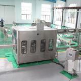 Carbonated завод безалкогольного напитка разливая по бутылкам