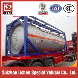 Химически жидкостный контейнер 20FT бака средства