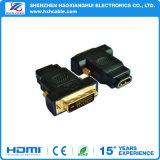 Maschio prefabbricato di HDMI all'adattatore della femmina di HDMI