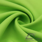 agua de 75D 190t y de la ropa de deportes tela tejida chaqueta al aire libre Viento-Resistente 100% de la pongis del poliester del telar jacquar del panal abajo (E060)