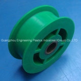 Smooth Injection Moulding PA66 Pulley Wheels