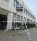 Tour en aluminium d'échafaudage qualifiée par ce de GV pour la décoration